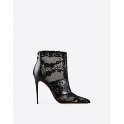 Valentino Lace Woman Bootie