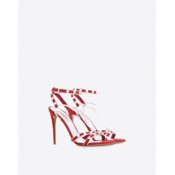 Valentino Free Rockstud Red Shoes